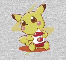 Pikachu & Tomato Ketchup Kids Clothes