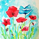 The blue poppy....:) by karina73020