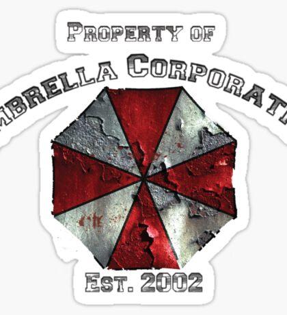 Property of Umbrella Corp Variant Sticker