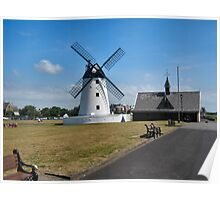 The windmill in Lytham St Annes. Poster