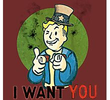 i want you  Photographic Print