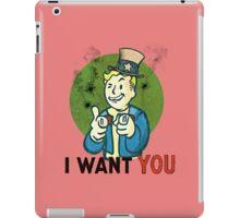 i want you  iPad Case/Skin