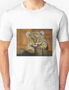 Watchful eye- baby tiger Unisex T-Shirt