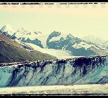 Analog Alaskan Glaciers by Phil Perkins