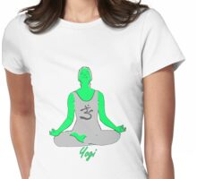 Yoga-Tshirt Womens Fitted T-Shirt