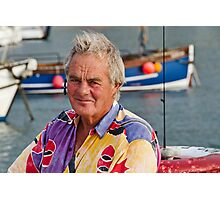 Local Skipper Harry May Photographic Print