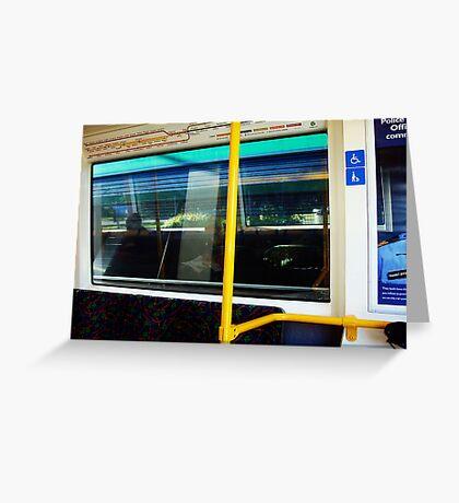 Train One -19 07 13 Greeting Card