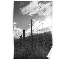 Flinders Fence 2 Poster