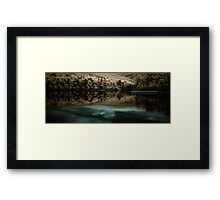 Lake Scranton Framed Print