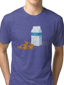 Milk & Triforce Cookies Tri-blend T-Shirt