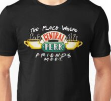 Central Perk Coffee - For Dark Shirts Unisex T-Shirt