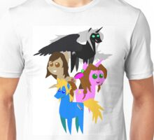 FFVII Cast (In BBBFF Version Of MLP) Unisex T-Shirt