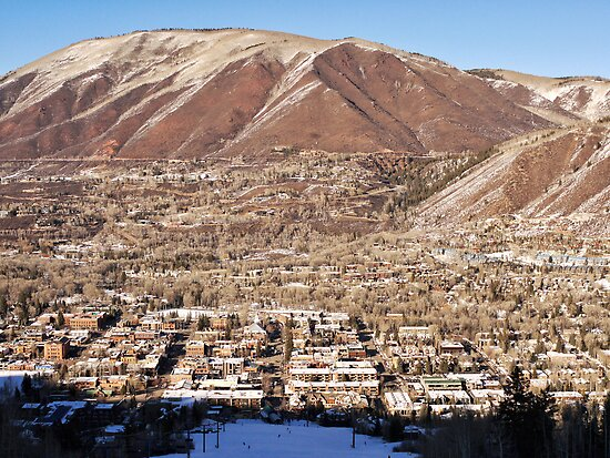 The City of Aspen, Colorado by Ryan Davison Crisp