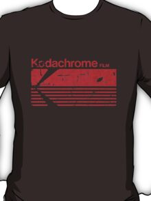 Vintage Photography: Kodak Kodachrome - Red T-Shirt