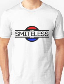Smiteless Tee - Red and Blue Panels T-Shirt