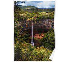 Chamarel Waterfall 1. Mauritius Poster