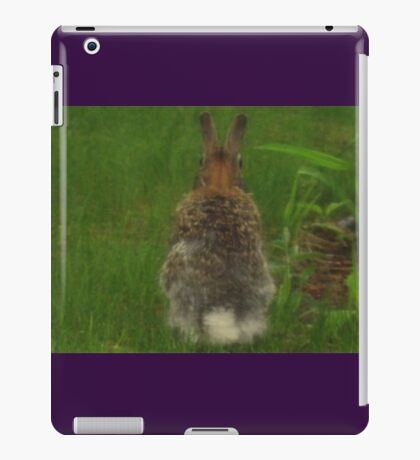 Bunny With Back Facing Me iPad Case/Skin