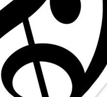 Treble Bass Sticker