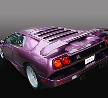 Lavender Lambo by WildBillPho