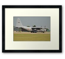 Belgian Air Force C130H Framed Print