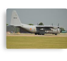 Belgian Air Force C130H Canvas Print