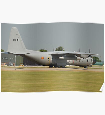 Belgian Air Force C130H Poster