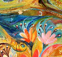 Original painting fragment 08 by Elena Kotliarker