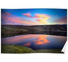 Marsden Moor Sunset Poster