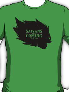 Saiyans Are Coming T-Shirt