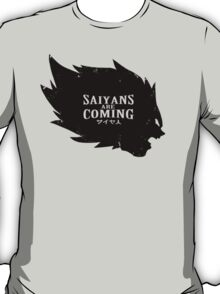 Saiyans Are Coming T-Shirt