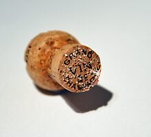Champagne Cork by Ian Marshall