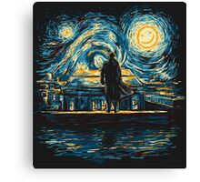 Starry Fall (Sherlock) Canvas Print