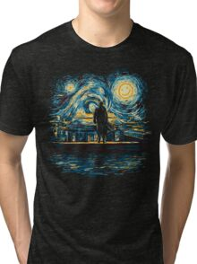 Starry Fall (Sherlock) Tri-blend T-Shirt