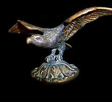 Portugese Bronze Eagle by Bine