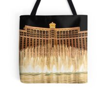 The fountains at Bellagio Tote Bag