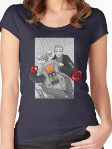 Danger...Danger Dr. Smith!!! Women's Fitted Scoop T-Shirt