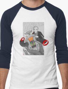 Danger...Danger Dr. Smith!!! Men's Baseball ¾ T-Shirt