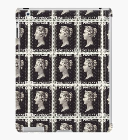 Penny Black Stamp (1d) 1840 iPad Case/Skin