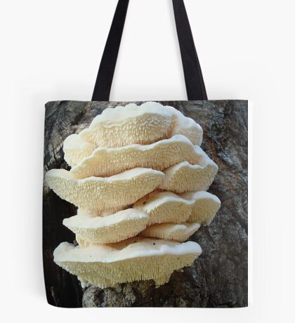 LOOKS LIKE COOKIES - A NEW SHELF FUNGUS FOR ME! Tote Bag