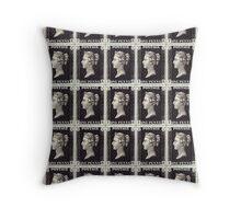 Penny Black Stamp (1d) 1840 Throw Pillow