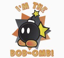 I'm the Bob-omb! Super Mario Kids Tee