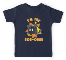 I'm the Bob-omb! Super Mario Kids Tee