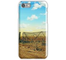Caution Cyclists 1990 iPhone Case/Skin