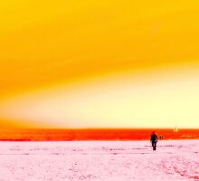 Seaside 04 Lonely Man by carlosdavid
