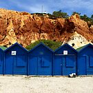 Blue Huts by CiaoBella