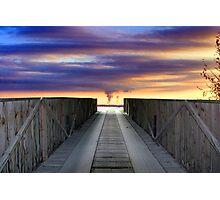 Bridge To Armageddon Photographic Print