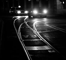 the lines of night by Victor Bezrukov