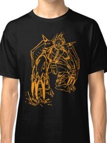 Wild Wargreymon - Color Ink Classic T-Shirt