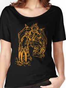 Wild Wargreymon - Color Ink Women's Relaxed Fit T-Shirt