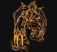 Wild Wargreymon - Color Ink T-Shirt